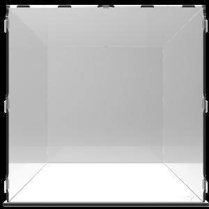 VITRINE ALPHA 60– L60 x P60 x H60