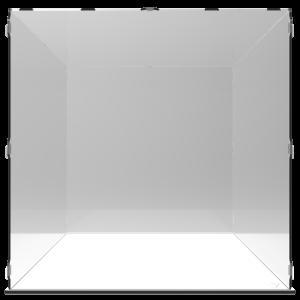 VITRINE ALPHA 80 – L80 x P80 x H80